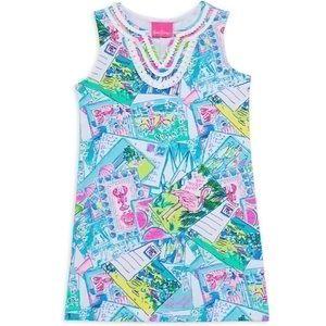 NWT Lilly Pulitzer Mini Harper Shift Dress, Medium 6-7